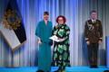 President Kersti Kaljulaid andis üle riiklikud teenetemärgid. Ülle Juht – kohaliku elu edendaja Valgamaal.