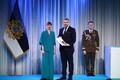President Kersti Kaljulaid andis üle riiklikud teenetemärgid. Jaanus Peri – ettevõtja ja kohaliku elu edendaja Tartumaal.