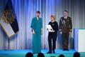 President Kersti Kaljulaid andis üle riiklikud teenetemärgid. Ilma Krenstrem – õpetaja ja eesti keele hoidja Abhaasia piirkonnas.