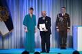 President Kersti Kaljulaid andis üle teenetemärgid. Jüri Kulasalu –kultuurielu edendaja Tartus.