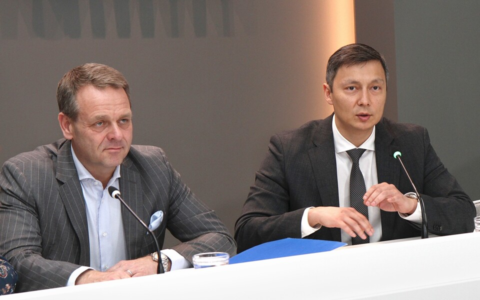 Михаил Кылварт и мэр Хельсинки Ян Вапаавуори