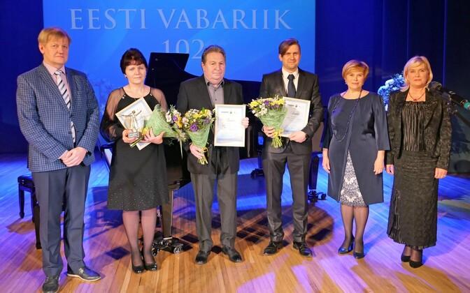 Маре Роозилехт (вторая слева) победила на конкурсе