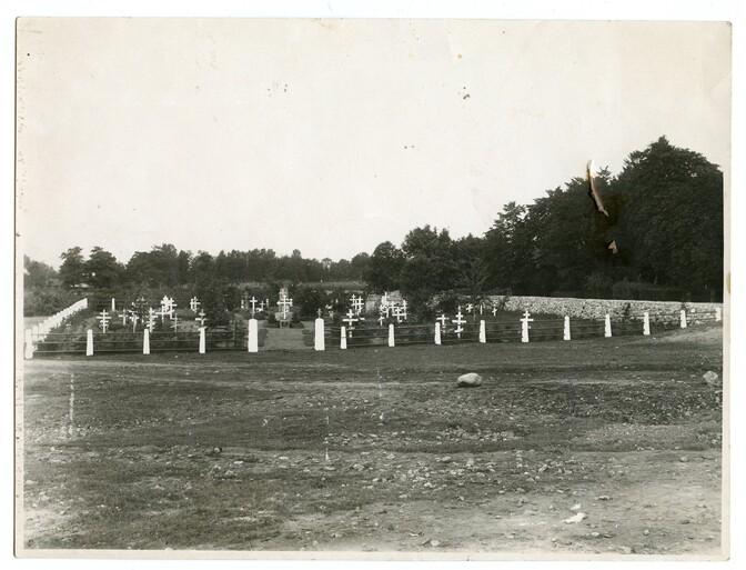 кладбище белогвардейцев в Копли