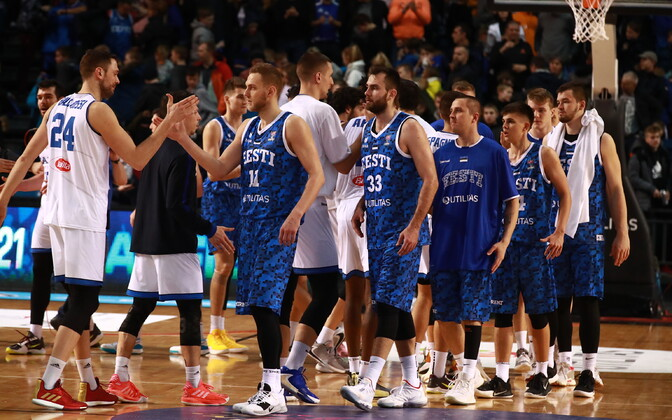 Отборочный матч Евробаскета: Эстония - Италия.