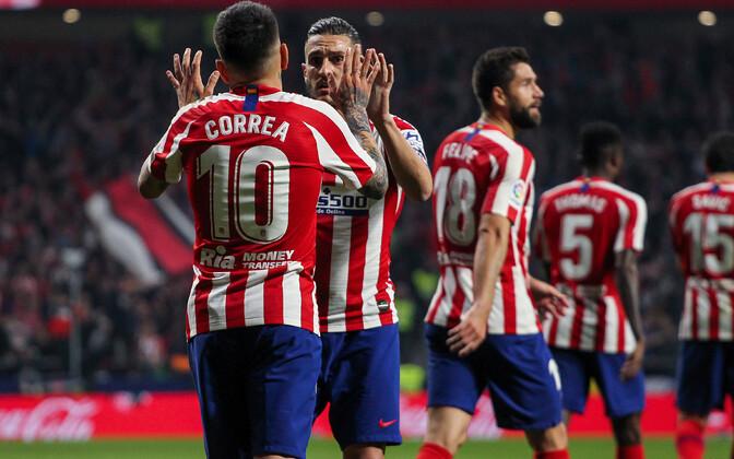 Madridi Atletico mängijad