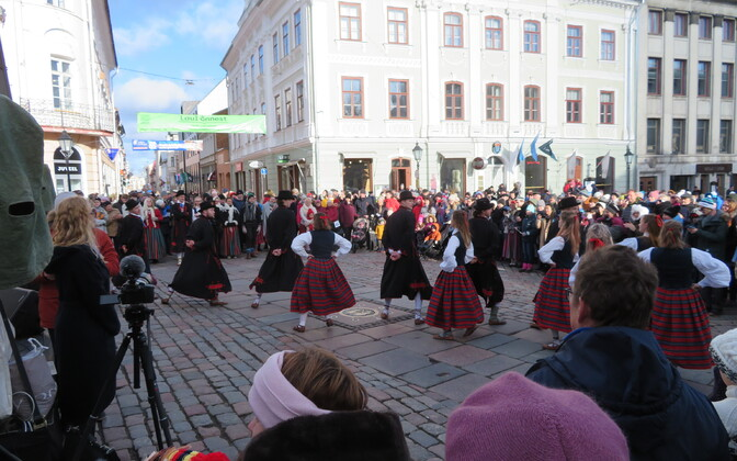 Tartu marks Estonian Independence Day.