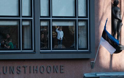 Vabariigi aastapäeva paraadi vaatajad Tallinnas