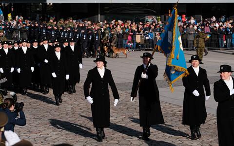 Vabariigi aastapäeva paraad Tallinnas