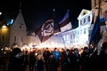 EKRE's torch-lit parade on the 102nd anniversary of the republic.