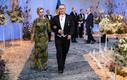 Kultuuriminister Tõnis Lukas ja Liina Lukas