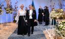 Eesti Kunstiakadeemia rektor, akadeemik Mart Kalm ja Anu Kalm
