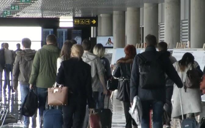 Riga Airport.