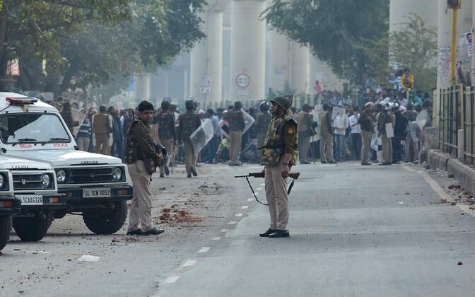 Delhi rahutused.