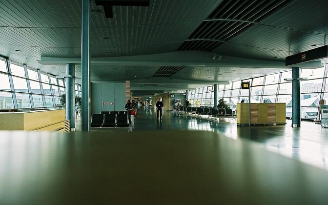 Рижский аэропорт.