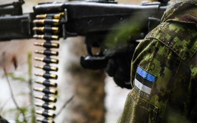 По словам Юри Луйка, должности в Силах обороны все больше становятся связаны с навыками логического мышления, аналитическими и управленческими способностями. Иллюстративная фотография.