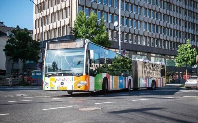 1. märtsist saab Luksemburgis ühistranspordiga tasuta sõita, sõltumata päritolust.