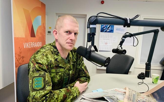 EDF commander Maj. Gen. Herem on Thursday's edition of