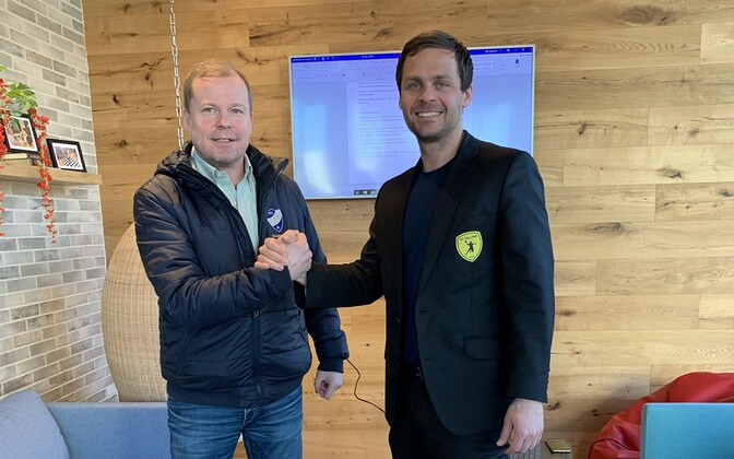 Ville Leppänen ja Risto Lepp