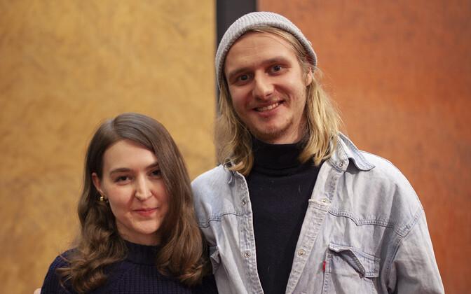 Teresa Väli ja Johannes-Magnus Aule