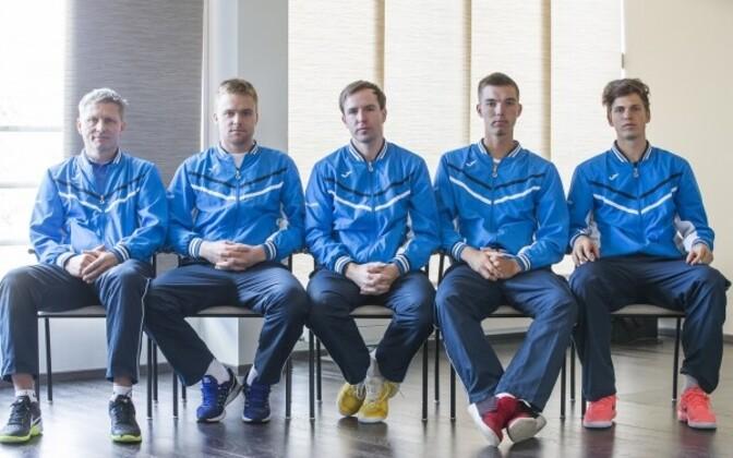 Eesti Davis Cupi koondis.