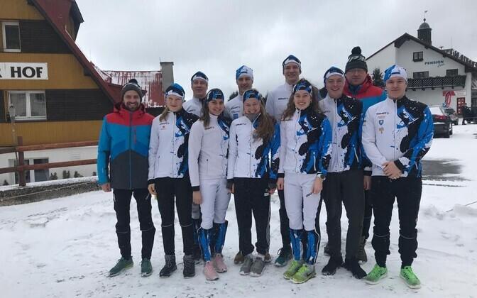 Eesti koondis suusaalade juunioride ja U-23 MM-il