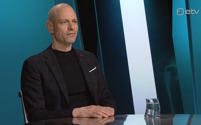 Elering management board chair Taavi Veskimägi.