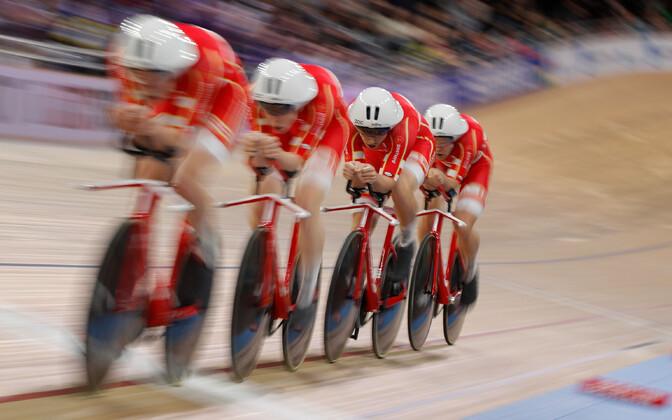 Taani meeskond trekisõidu MM-il