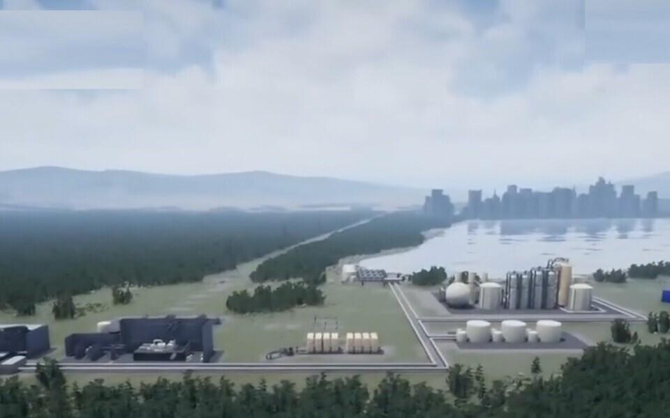 Первое открытое обсуждение строительства атомной электростанции в Кунда.