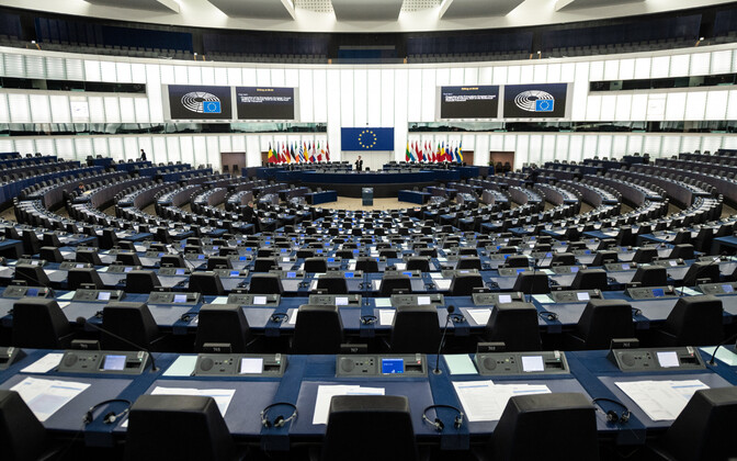 Euroopa Parlamendi istungitesaal Strasbourgis.
