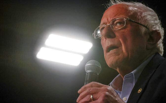 USA demokraatide üks presidendikandidaate Bernie Sanders.
