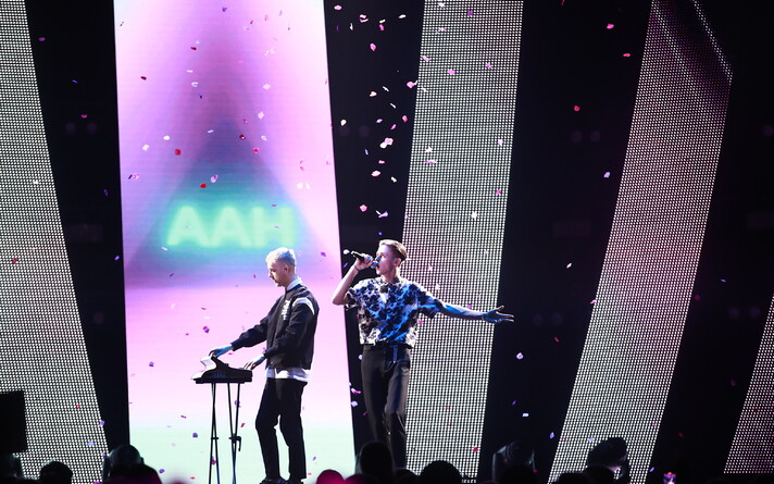 Saku suurhallis toimus Eesti Laul 2020 finaalkontsert