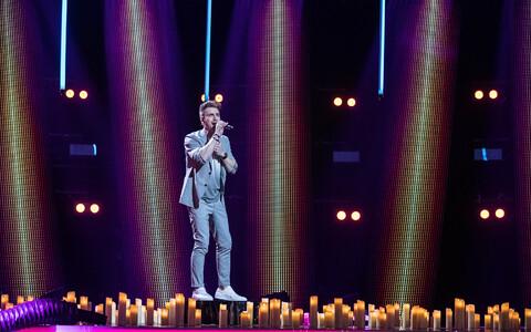 Победитель Eesti Laul-2020 Уку Сувисте.