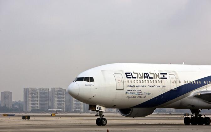 El Ali lennuk Ben Gurioni lennuväljal Tel Avivi lähedal.