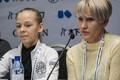Нина Петрыкина и ее тренер Светлана Варнавская.