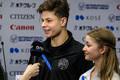 Эстонская танцевальная пара Дарья Нетяга/Марко Гайдаенко.