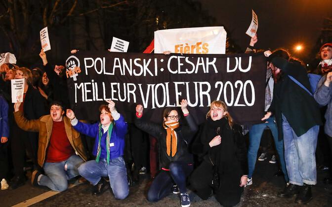 Protestijad Prantsuse filmiauhindade jagamise ajal