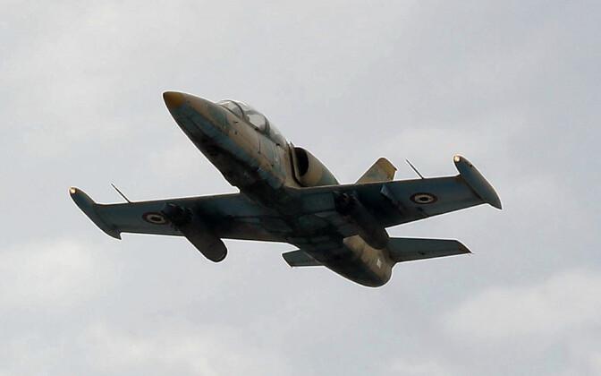 Süüria õhuväe L-39, arhiivifoto.