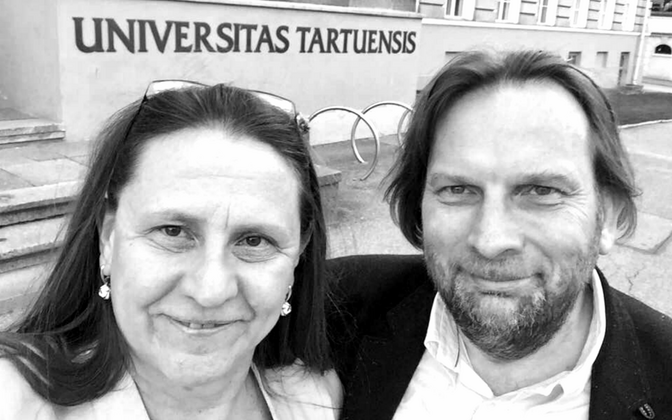 Катрин Идла и Марек Страндберг.