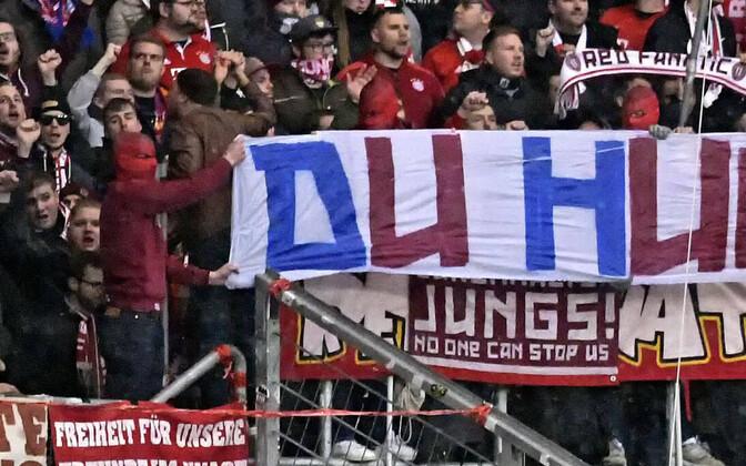 Müncheni Bayerni jalgpallifännid