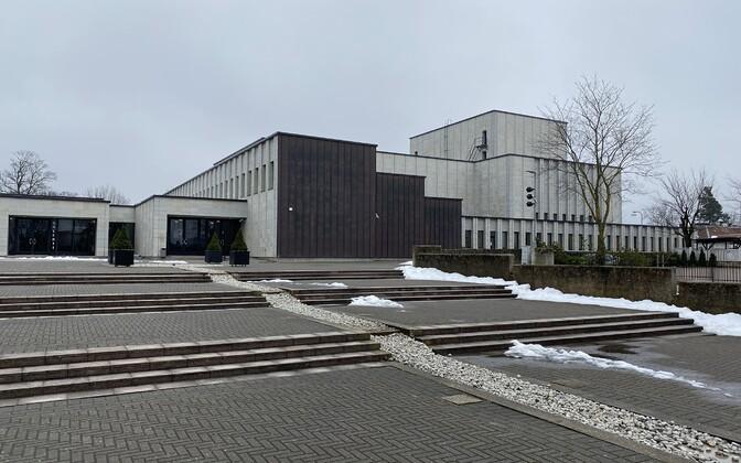 Haapsalu kino asub linna kultuurikeskuses.