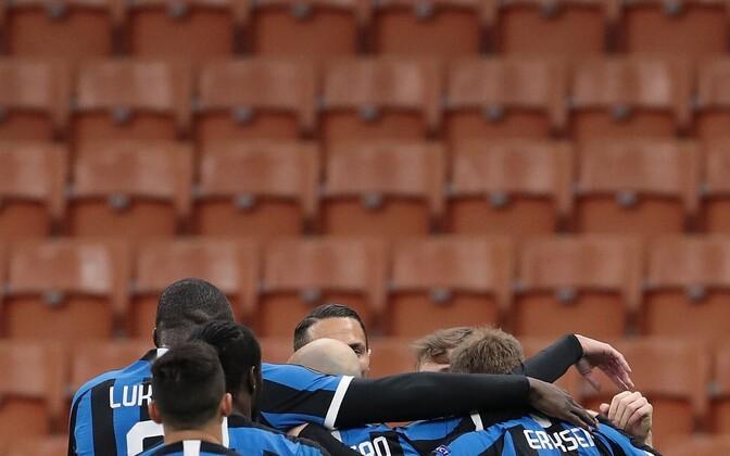 Milano Inter pidas tühjade tribüünide ees ka Euroopa liiga play-off kohtumise Ludogoretsi vastu
