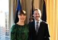 Kersti Kaljulaidi kohtumine USA Arengurahastuse (Development Finance Corporation) juhi Adam Boehleriga.