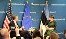 Atlantic Councili mõttekojas oli Kaljulaidil kaks järjestikust üritust – esmalt kitsamas ringis arutelu ekspertidega ning seejärel suure auditooriumi ees Kolme Mere teemaline mõttevahetus.