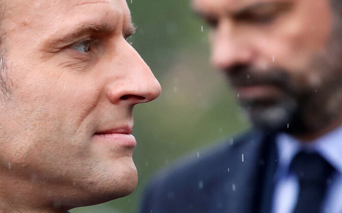 President Emmanuel Macron ja peaminister Édouard Philippe.