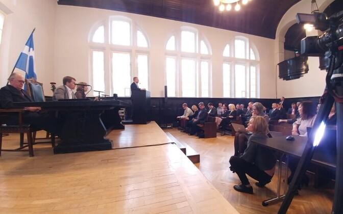 Sitting of Pärnu City Council.