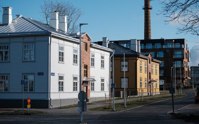 Apartments at Kopli liinid in Tallinn.
