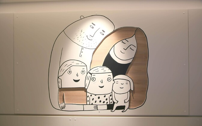 В Таллиннской детской больнице навещать ребенка может только один родитель.