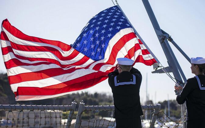 USA mereväelased Itaalias.