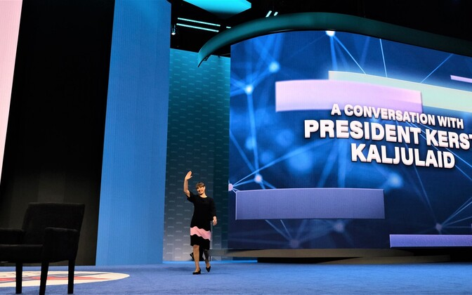 President Kaljulaid AIPAC-i kongressil USA-s.