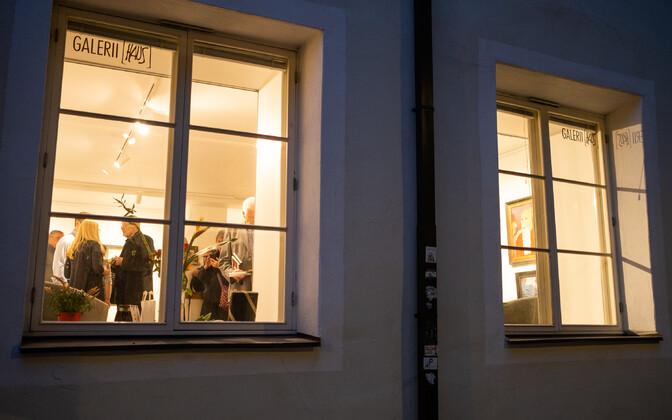Arrakunäituse avamine Haus Galeriis.
